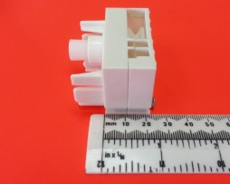 22mm White Vertical Blind Replacement Part