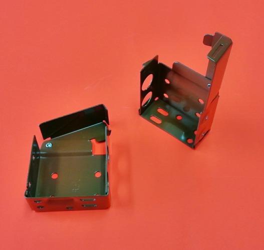 Timber Blinds Metal Bracket Tan 55mm X 60mm