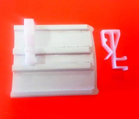 Timber Venetian Blind Plastic Pelmet Bracket