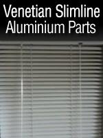 Venetian Slimline Aluminium Blind Parts