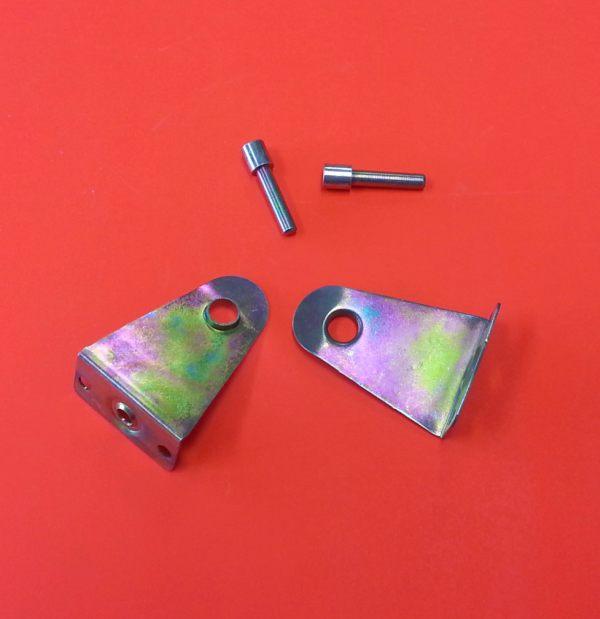 Metal Hold Down Brackets Zinc 50mm Venetian Blinds