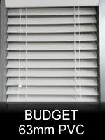 63mm Budget PVC Blinds