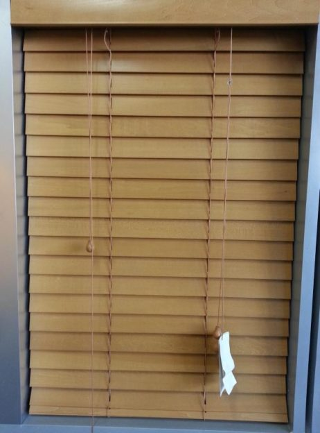 Teak 50mm Timber Budget Blind Blinds 2 Go