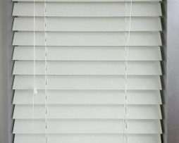 white pvc 63mm blind