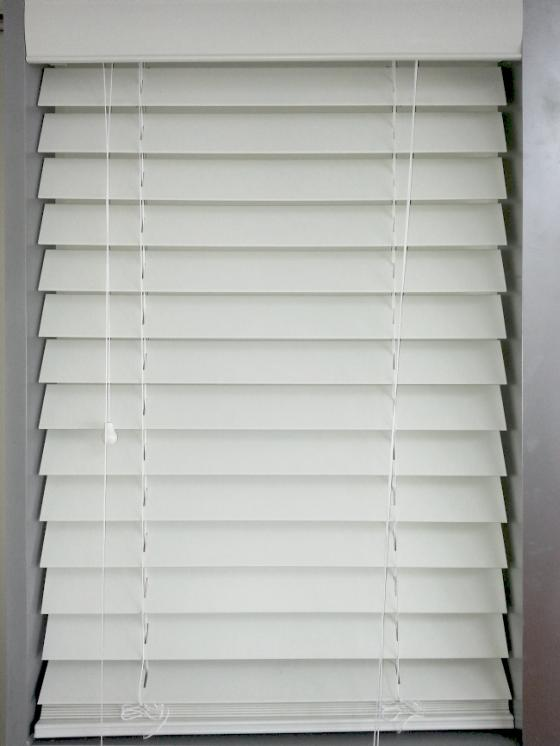 White 63mm Pvc Venetian Blind Blinds 2 Go